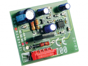 Placa de decodificare si gestiune control acces cu transponder, Came
